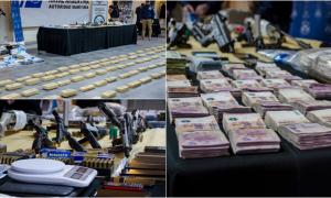 Megaoperativo en Provincia y capital con 21 detenidos y más de 135 kilos de droga secuestrados