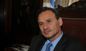 El Intendente de La Plata, Pablo Bruera.