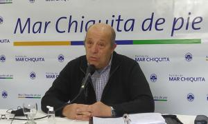El intendente de Mar Chiquita, Jorge Paredi.