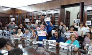 Primera reunión Paritaria docente arrancó con el gobierno levantándose y un cuarto intermedio