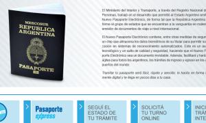 El pasaporte puede obtenerse a través de la web.
