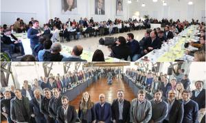 Kicillof en Avellaneda y Vidal en La Plata juntaron a su tropa tras los resultados de las PASO
