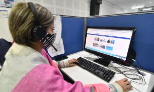 Pese a alta demanda, la línea telefónica de atención redujo el tiempo de espera