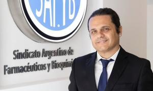 Marcelo Peretta es el Secretario general del Sindicato Argentino de Farmacéuticos y Bioquímicos