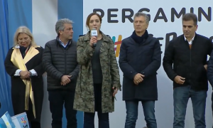 Macri y Vidal en Pergamino con el #SíSePuede, un distrito donde ganó las PASO