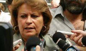 Mirta Petrocini la vocera del reclamo.