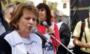 Petrocini se mostró cauta antes de la reunión con el gobierno.