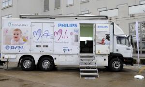 El Móvil de Atención Materno Infantil de Philips llega a Pehuajó con cursos de RCP para toda la comunidad