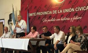 Morales respaldó a los candidatos de Juntos en Entre Ríos.