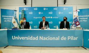 Sergio Massa, Federico Achaval y Nicolás Trotta
