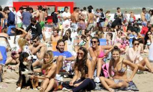 Booking dio a conocer las playas más elegidas. Foto: NA