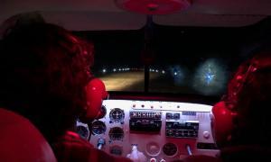 General Villegas: Inauguran iluminación del aeródromo