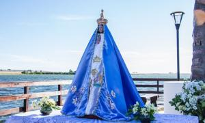 """Puán: Inauguraron la gruta de la Virgen """"Patrona Nacional del Turismo"""""""