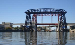 Volvió a funcionar el Transbordador Nicolás Avellaneda tras 60 años sin uso