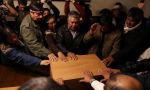 El Museo de la Universidad de La Plata restituyó restos de nueve indígenas Qom|