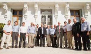 Intendentes bonaerenses se reunieron con Sanz en General Alvear.