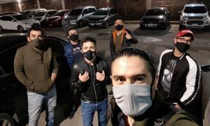 El grupo Ráfaga se prepara para el primer autoconcierto de Tigre