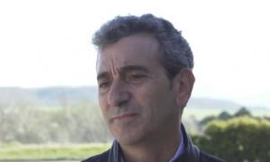 Randazzo inció su campaña en el sur de la Provincia.