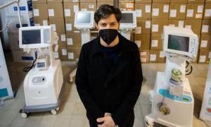 Provincia entregó más de 170 nuevos respiradores a 42 municipios