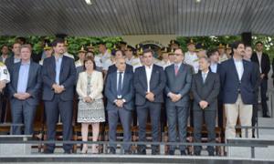 Ritondo encabezó el acto en Berazategui.