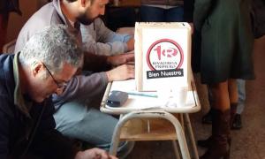Una urna de una elección pasada de Rivadavia Primero