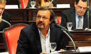 El titular de del Bloque de Senadores de Cambiemos repudió el accionar de Secco. Foto: Escobar News