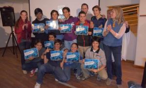 Los alumnos puntanos que viajarán a Brasil para la Robocup 2014