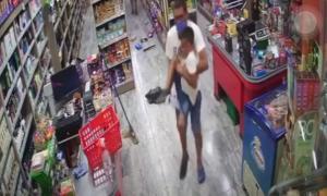 Video: Un sospechoso detenido por el nene baleado en intento de robo a supermercado de General Rodríguez