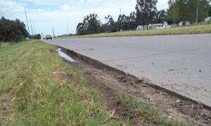 Entre otras irregularidades, la Ruta 88 carece de señalización. Foto: Punto Noticias.