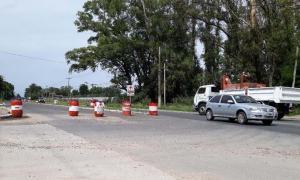 Las obras en la Ruta están demoradas por falta de fondos provinciales. Foto: Pilar de Todos.