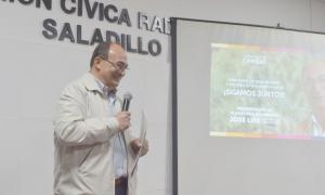 Intendente Salomón presentó su plataforma electoral 2019-2023 ante cientos de vecinos (ABC Saladillo)