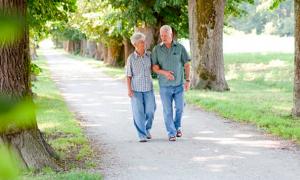 Los adultos mayores tiene sus días para recrearse