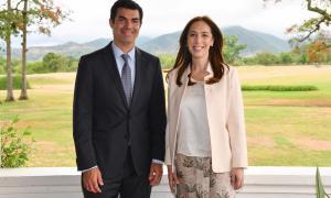 Vidal en Salta: Estuvo en asamblea de la Sociedad Interamericana de Prensa y se reunió con Urtubey