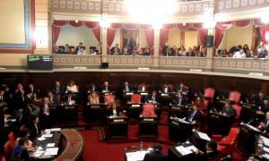 Nueva sesión en la Cámara de Senadores. Foto: LaNoticia1.