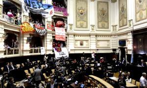 Diputados dio media sanción al boleto educativo gratuito y universal. Foto: LaNoticia1.