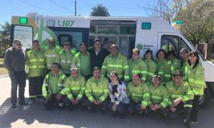 SAME Provincia llegó a General Lavalle y ya son 109 los municipios adheridos