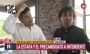 Fergonzi es precandidato a Intendente por el PJ.