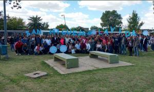 En San Miguel, los funcionarios de Cambiemos se juntaron para rechazar la interrupción del embarazo.