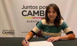 La diputada del Bloque que respondía al bloque deJuntos por el Cambio.