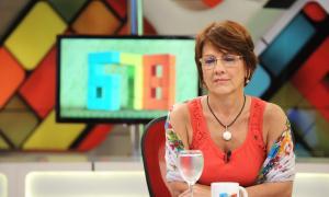 Otros tiempos: Sandra Russo como panelista de 678.