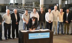 Katopodis firmó la Emergencia PyME en el distrito.