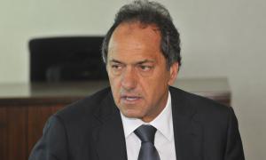 Scioli respaldó al hijo de la Presidenta.