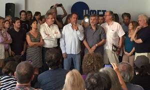 Scioli encabezó el plenario en La Matanza.