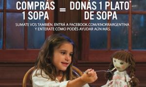 """Knorr invita a participar de su """"Semana de la Sopa Solidaria"""", del 21 al 27 de julio"""