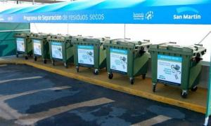 Se inauguraron tres nuevos puntos verdes para separar la basura en sucursales de Carrefour de General San Martín