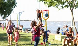 La propuesta al aire libre ofreceun conjunto de actividades para toda la familia. Foto: Prensa