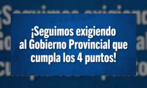 Paritaria docente en Provincia: Suteba dice que falta que el gobierno cumpla con el no descuento por paro
