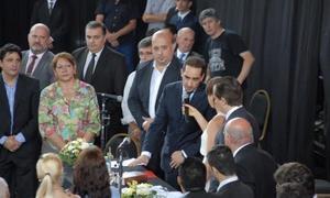 Tagliaferro juró en Morón. Foto: ElDiariodeMorón