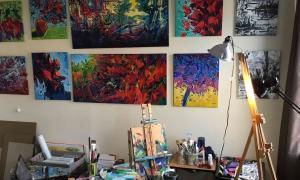 Desde José C Paz habrá talleres de pintura