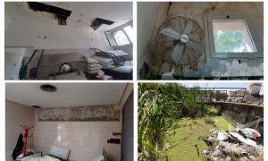 Las fotos que presentó el Intendente de San Vicente.